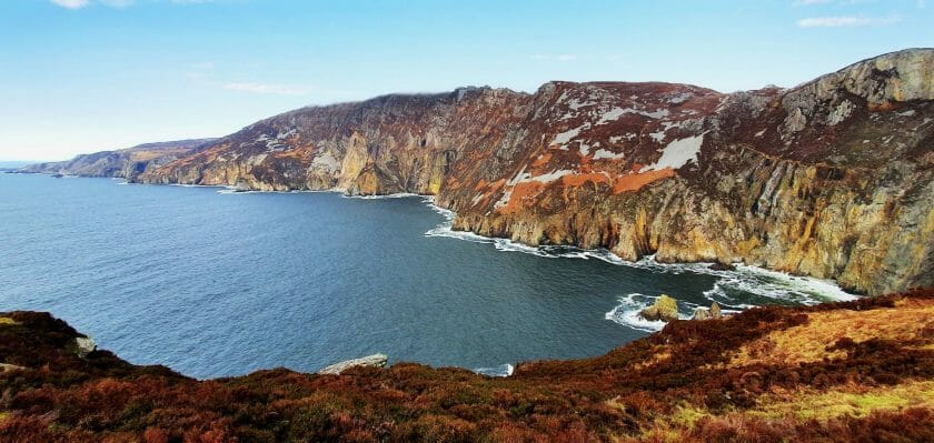 Sehenswertes in Donegal  Slieve League